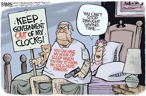 jpg Political Cartoon: Daylight Saving Time