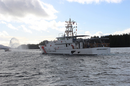 Fast Response Cutter John McCormick arrives in Ketchikan