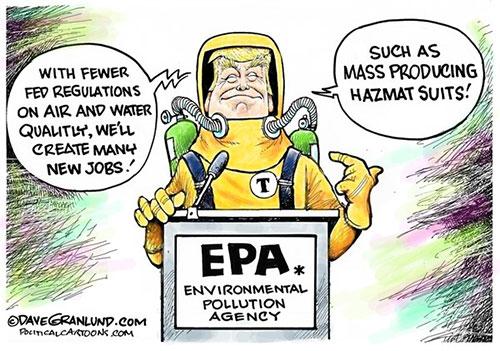 jpg Political Cartoon: Trump and EPA