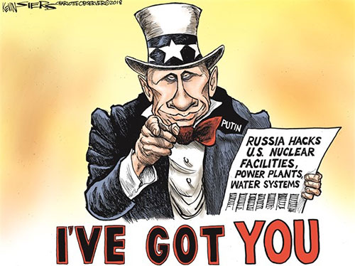 jpg Political Cartoon: Russia hacks the US