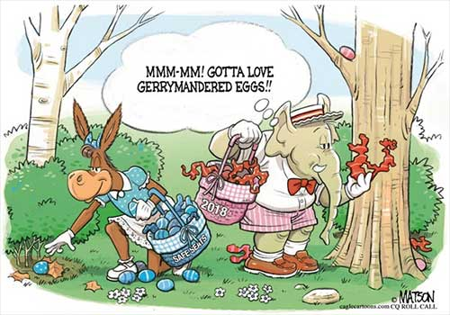 jpg Political Cartoon: Congressional Easter Egg Hunt