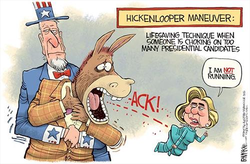 jpg Political Cartoon: Hickenlooper Maneuver