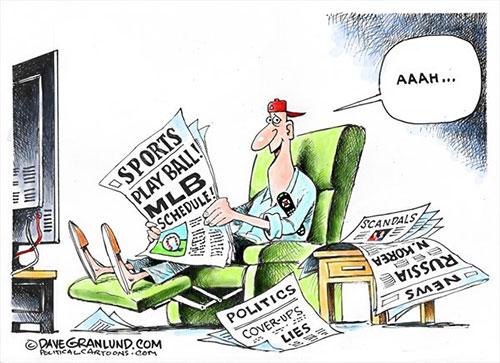 jpg Political Cartoon: MLB season beginsMarch 20th