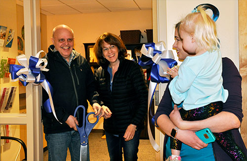 jpg Pinky Brindle Cancer Center Opens With Ribbon Cutting