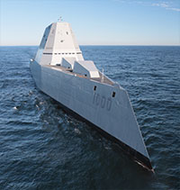 USS Zumwalt, the Stealth Destroyer, Visits Ketchikan