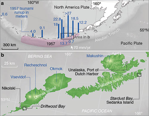jpg Tectonic setting of the Aleutian subduction zone.