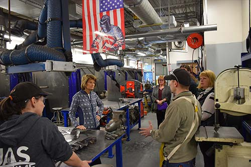 Murkowski Visits UAS Ketchikan Maritime Training Center