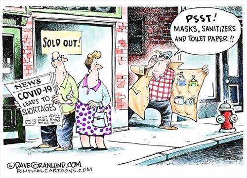 jpg Political Cartoon: COVID-19 and shortages