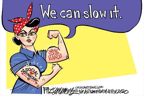 jpg Political Cartoon: We can slow it