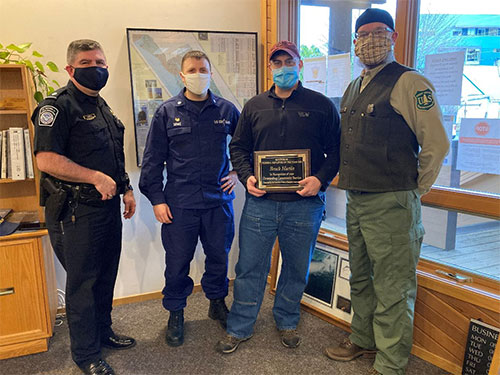 jpg Brock Martin receives Federal Employee of the Year Award