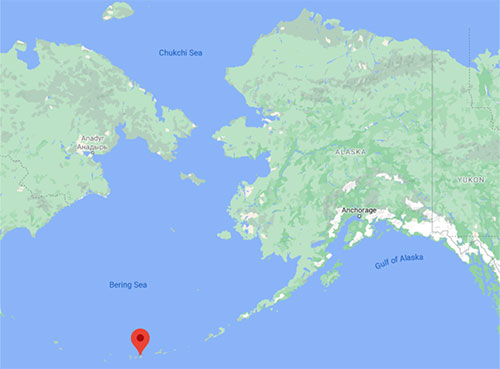 jpg Adak Island is part of Alaska's Aleutian Archipelago.