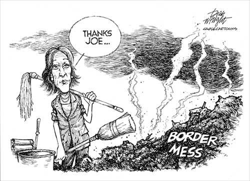 jpg Political Cartoon: Kamala is Joe's Clean-Up Lady