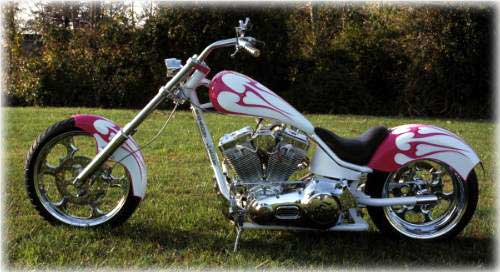Front Page Wicked Women Choppers courtesy Christine Vaughn