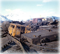 Seward devastated during 1964 earthquake