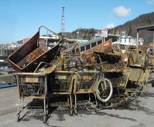 jpg Bar Harbor & Thomas Basin Cleanup:  $12,000-$20,000 worth of grocery carts recovered