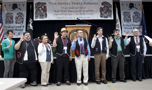 jpg Tribe Adjourns 77th Annual Tribal Assembly; Mary Elizabeth Jones of Ketchikan Presented the President's Lifetime Achievement Award