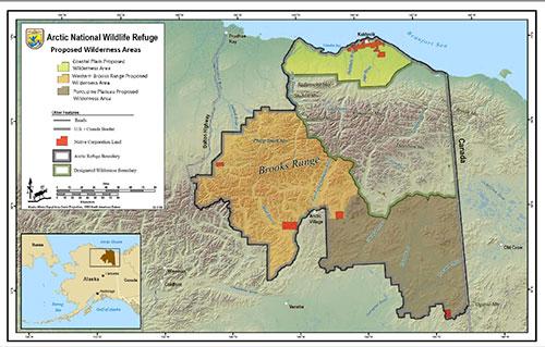 jpg President Formalizes Coastal Plain Wilderness Plan, Young Responds