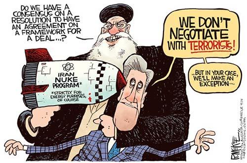 jpg Political Cartoon: Iran Nuke Deal