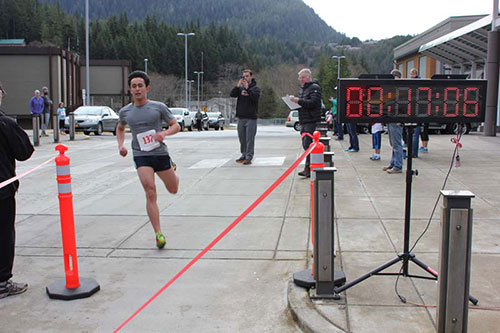 jpg Sylvan Blankenship won the 5K with a time of 17:06