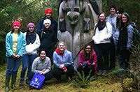 Linfield College visits Prince of Wales Island to work and learn