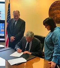 Walker - Mallott Admin Streamlines Adoption Process for Alaska Native Children
