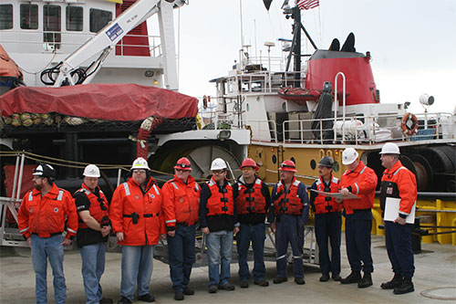 jpg Crowley Crews Commended by Coast Guard for Assistance during Kulluk Emergency Rescue Tow