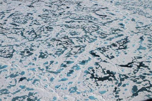 jpg Solving the mystery of the Arctic's green ice