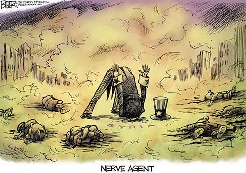 jpg Political Cartoon: Syria Nerve Agent
