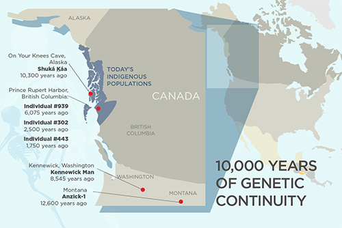 jpg Study reveals 10,000 years of genetic continuity in northwest North America