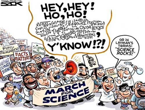 jpg Editorial Cartoon: March for Science