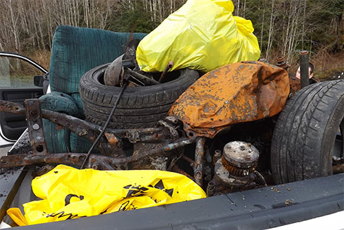 jpg Burned motorcycle and chair found at Whipple Creek