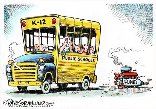 jpg Political Cartoon: Public school funding