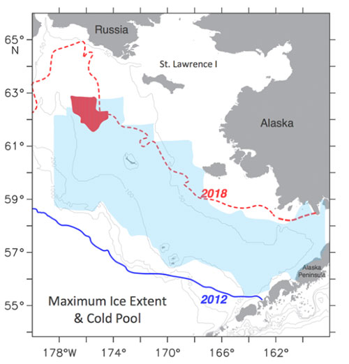 jpg The blue shaded area is 2012 cold pool and red is the 2018 cold pool extent.