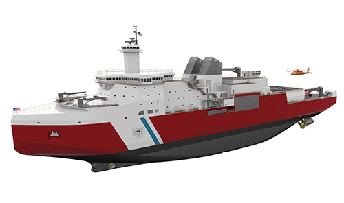 Polar Security Cutter Contract Awarded to Update Nation's Arctic Capabilities