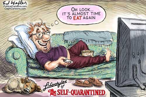 jpg Political Cartoon: Almost Time To Eat Again