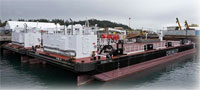 Double Hull Petroleum Tank Barges Headed for Western Alaska