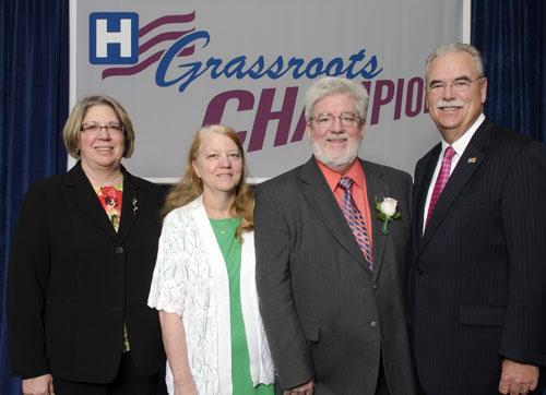 jpg Patrick Branco Receives AHA Grassroots Award