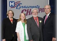 Patrick Branco Receives AHA Grassroots Award