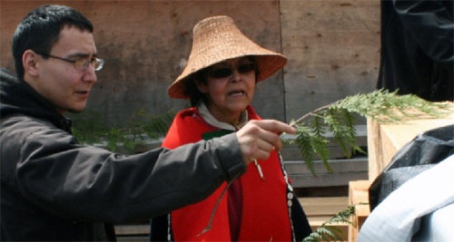 jpg Governor Appropriates $250,000 to Chief Shakes Island;  Sealaska Donated Cedars Receive Blessing