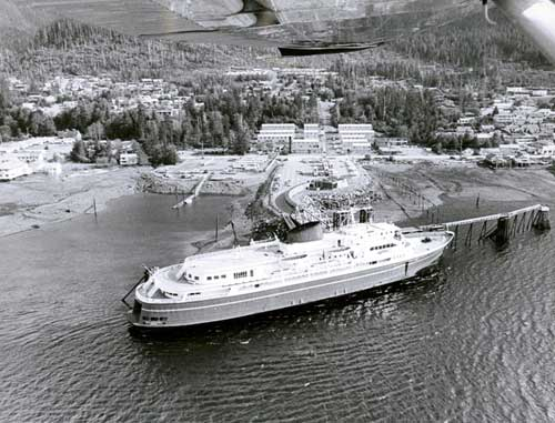 jpg Alaska State Ferry Malaspina arriving at Ketchikan