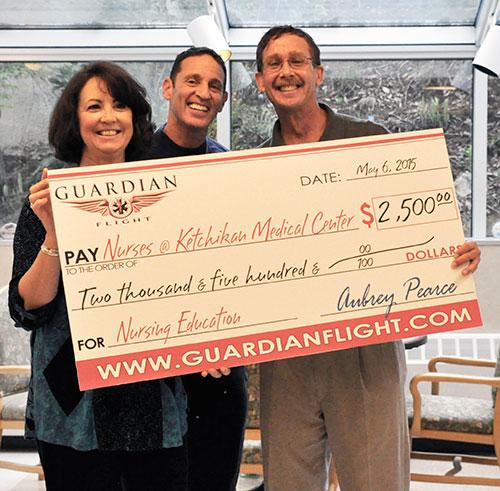 jpg Guardian Flight kickstarts Professional Excellence Fund