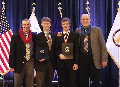 jpg Alaska high school students win top national honors for research