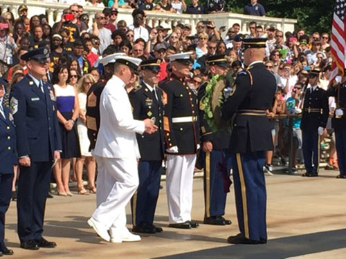 jpg Troops, Veterans Honored at Armed Forces Day Ceremony