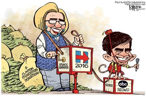 jpg Political Cartoon: George Monkeynopoulos