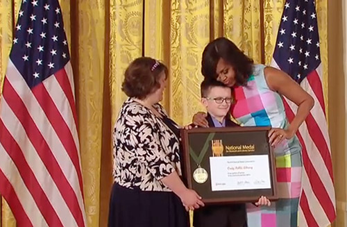 jpg First Lady Michelle Obama Presents National Medal to Exceptional Museums and Libraries at White House Ceremony