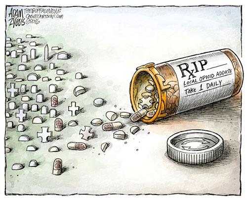 jpg Editorial Cartoon: Opioid Epidemic