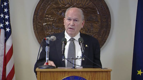 jpg GOVERNOR CALLS FOURTH SPECIAL SESSION OF THE 29th ALASKA STATE LEGISLATURE