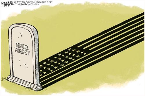 jpg Editorial Cartoon: Memorial Day 2016