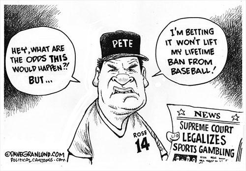 jpg Political Cartoon: Sports gambling legal