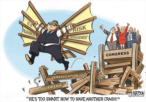 jpg Political Cartoon: Dodd Frank Repeal
